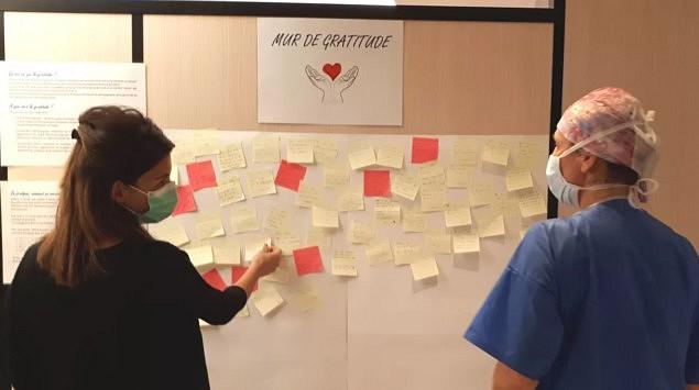 Connaissez-vous le «mur de gratitude» ?