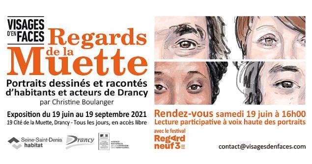 "Save the date ! Inauguration de l'exposition ""Regards de la Muette"""