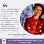Christine Boulanger, fondatrice de Visages d'en Faces